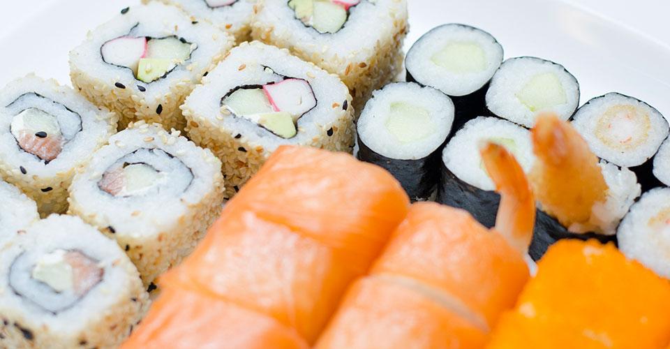 sushi baras suktinukas