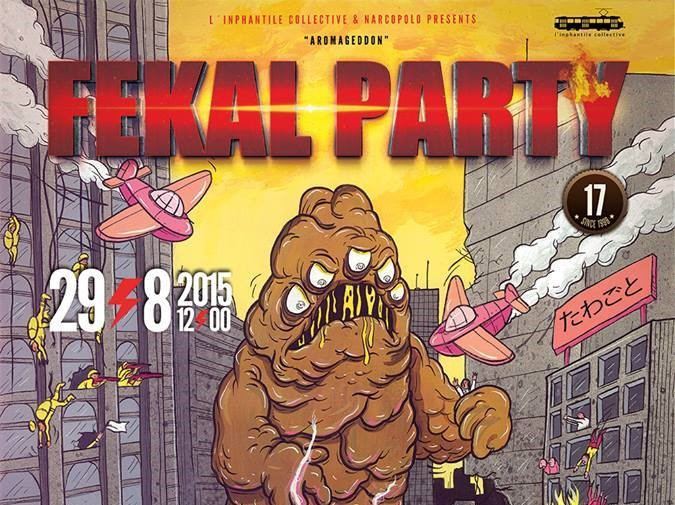 fekal party 2015 poster crop