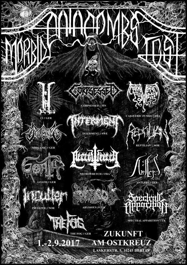 morbid catacombs fest v